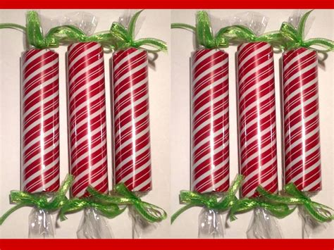 large faux christmas candy decorations