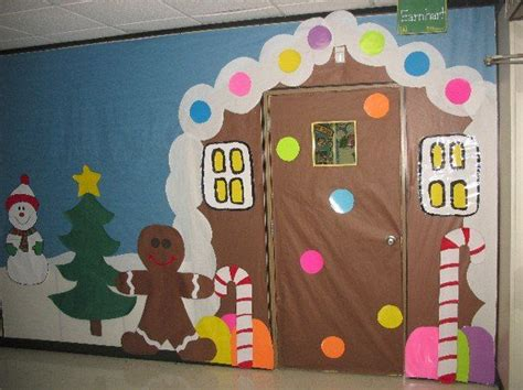 christmas school hallway decorations deck the hall