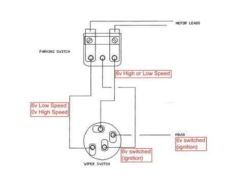 Wiper Motor Wiring Ford Truck Enthusiasts Forums
