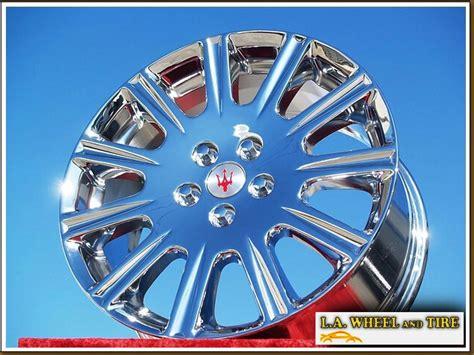 la wheel chrome oem wheel experts maserati