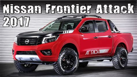 nissan frontier attack concept youtube