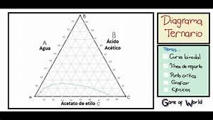 Diagrama Ternario - Conceptos - Ejercicios