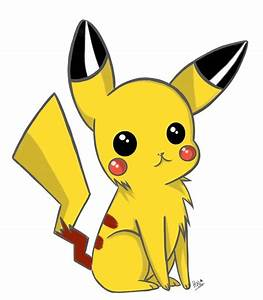 Chibi Pikachu by Nocturnally-Blessed on DeviantArt