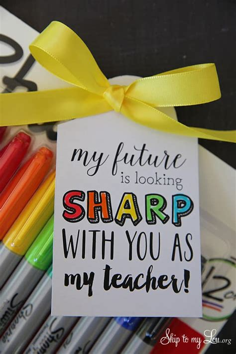 school teacher gift tags skip   lou