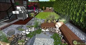 Galets Blancs Pour Jardin Pas Cher : decoration jardin avec galets gravier cailloux incroyable ~ Dode.kayakingforconservation.com Idées de Décoration