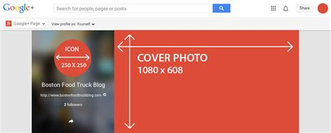Google Cover Photo Size by Social Media Guide For Image Dimensions 2014