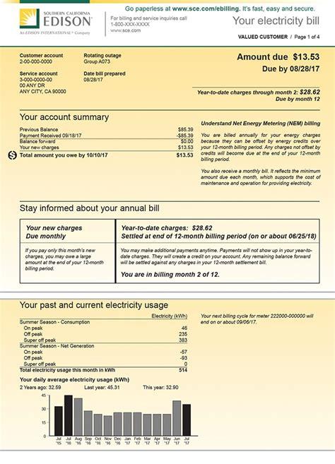 understanding  bill net energy metering generating