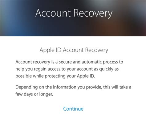 Account Recovery How To Recover Your Lost Apple Id Password