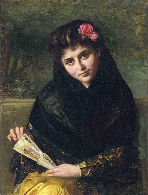 John Bagnold Burgess, Ra (18301897) , A Spanish Beauty