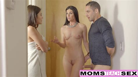 Momsteachsex Hot Stepmom And Teen Get Messy Facial Zb Porn