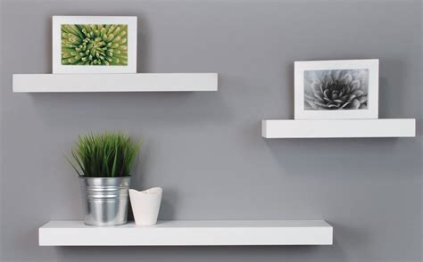 Homes Interiors - top 20 white floating shelves for home interiors