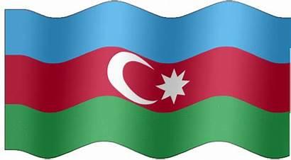 Azerbaijan Flag Animated Flags Extra Very Animation