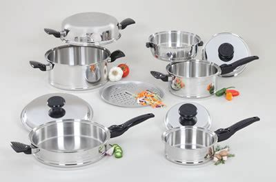 Lifetime Cookware 10 Piece Set