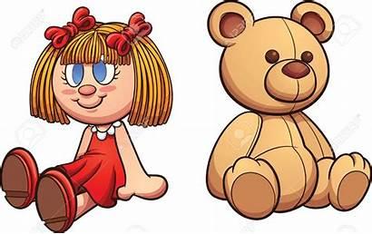 Doll Clip Clipart Teddy Bear Vector Illustration