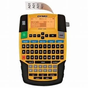 Dymo rhino 4200 label printer dymo label printers from for Dymo label sizes