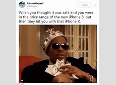 Apple's iPhone X inspires hilarious memes Daily Mail Online