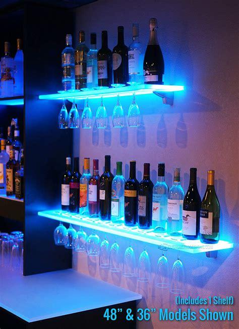 Lighted Liquor Shelves Iron Blog
