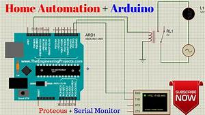 Home Automation Simulation With Proteous Using Arduino