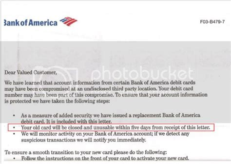 """Today i received letters from bank of america stating that they are closing my credit cards. Mini's Muckin' Around Again: WTF? Bank of America - Debit Card """"Closure"""""""