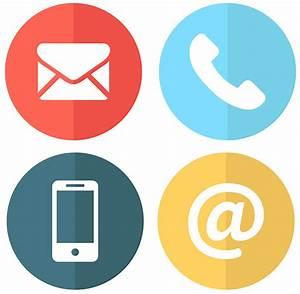 125+ Free Vector PSD Contact Icons|FreeCreatives