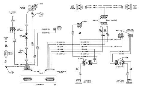 1993 Dodge Truck Dash Wiring Diagram dodge d150 wiring diagram radio dodge auto parts catalog