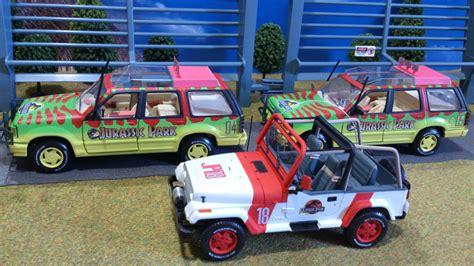 jurassic park car toy ford explorer tour car maisto jeep wrangler open top tam