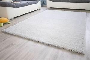 Hochflor Teppich Weiß : hochflor teppich shaggy weiss epos teppich skandinavisch ~ Lateststills.com Haus und Dekorationen