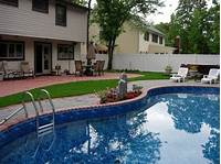 interesting pool and patio design ideas Here you go: Home landscaping designs long island weather