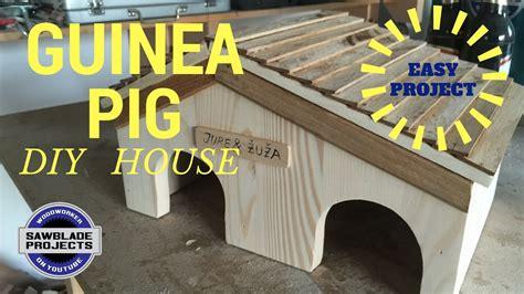guinea pig house    diy version youtube