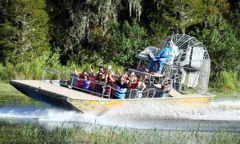 Airboat Adventures At Boggy Creek by Airboat Rides And Gem Mining Boggy Creek Airboat