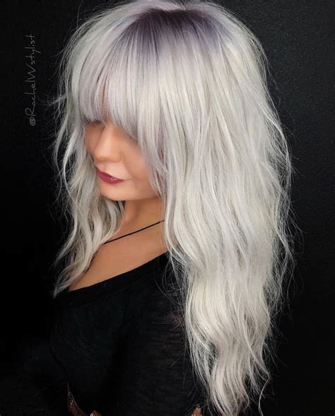medium  long hairstyles  exciting blonde colors