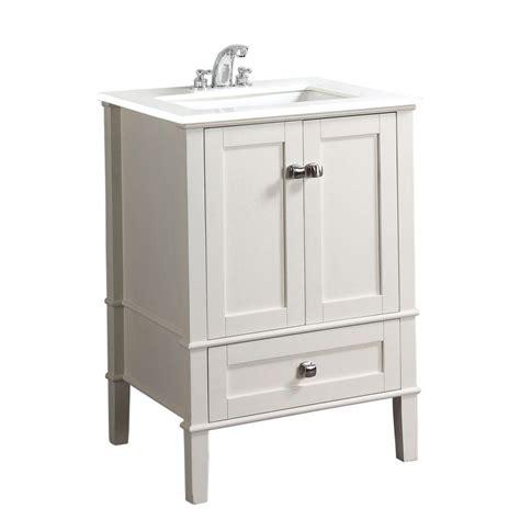 simpli home chelsea   vanity  soft white