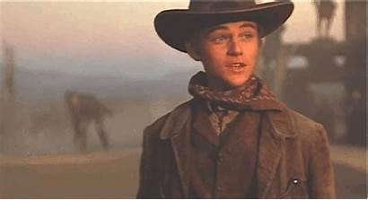 Leonardo Dicaprio Young Cowboy Western Gifs Eager