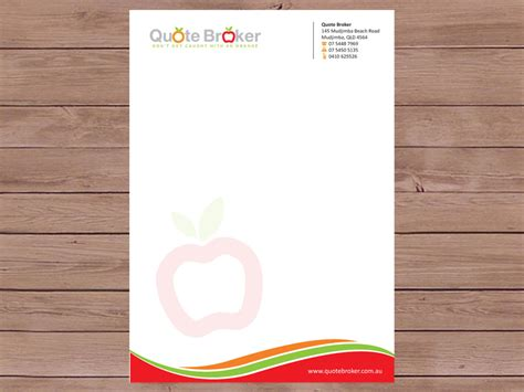 Bold, Modern Letterhead Design For Quote Broker By Priyo. Best Art History Graduate Programs. Movie Poster Generator. Graduate Schools In Illinois. Free Psd Flyer Templates. Award Ceremony Invitation Template. Graduate Programs In Education. Easy Sample Sales Resumes. Cleaning Business Cards