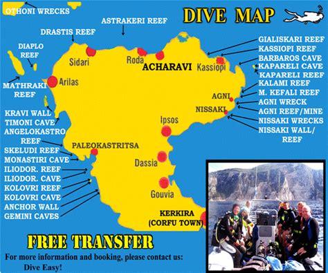 diving map