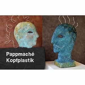 Pappmache Ideen Und Techniken Für Kreatives Gestalten : video anleitung pappmache kopfplastik selbermachen pinterest ~ Yasmunasinghe.com Haus und Dekorationen