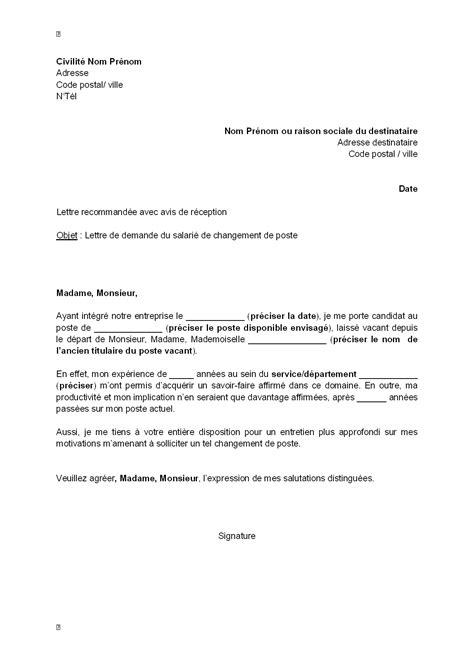 lettre de motivation employé de bureau lettre candidature emploi type lettre de motivation jaoloron