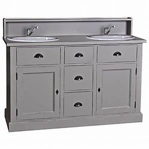 Farbe Für Waschküche : casa padrino landhaus stil waschschrank waschtisch inkl 2 waschbecken mit schubladen und ~ Sanjose-hotels-ca.com Haus und Dekorationen