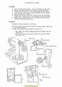 Janome Sx2122 Sewing Machine Service