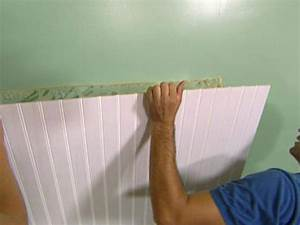 how to install beadboard wainscoting how tos diy With how to fix bathroom wall panels