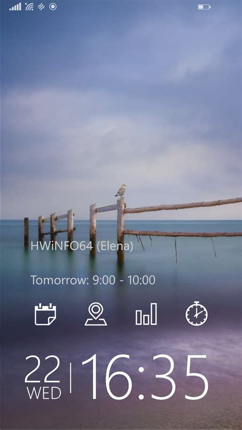 microsofts tetra lockscreen app brings widgets  windows