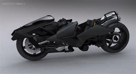 Sci-fi Motorcycle Futuristic Cyber 3d Design Cyperpunk