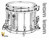 Musical Coloring Drums Tom Pages Drum Snare Instruments Percussion Instrument Boys Majestic Yescoloring sketch template