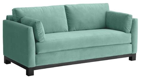 Apartment Size Sofas And Sectionals by Avalon Apartment Size Sofa Sixties Blue 57x37x30