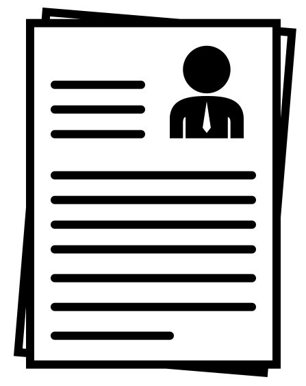 14191 resume icon transparent drawing icon resume 19036 free icons and png backgrounds