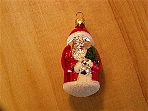 dept 56 mercury glass ornament white santa holding tree vintage santa claus mercury glass ornament wht mica glitter ornaments