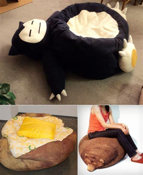 cool  unusual bean bag chairs design swan