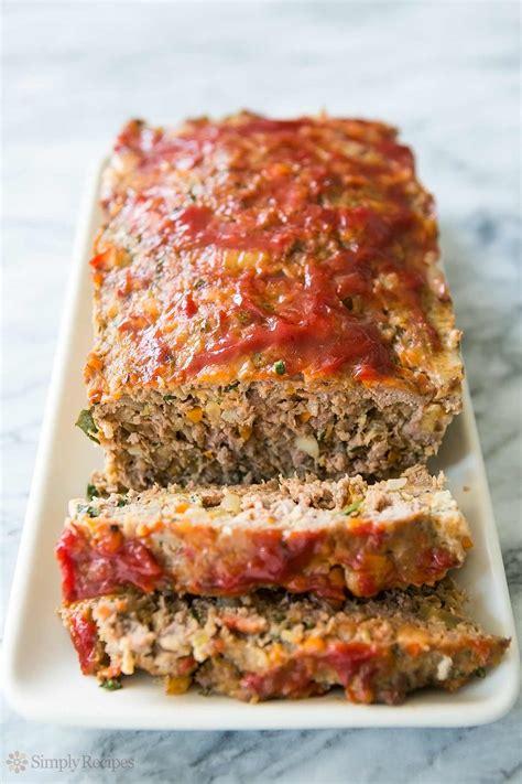 recipe for meatloaf classic meatloaf recipe simplyrecipes com
