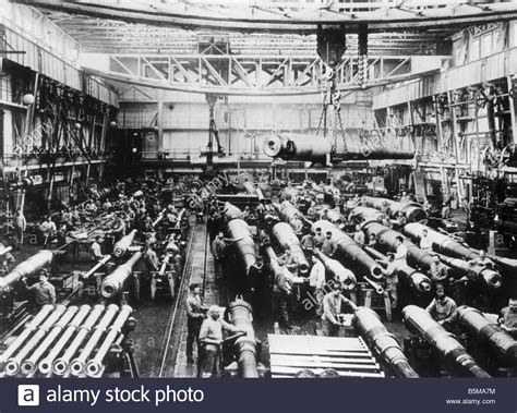 krupp cannon factory wwi  history world war  arms