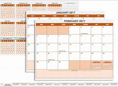 Annual Training Calendar Template Calendar Template 2018